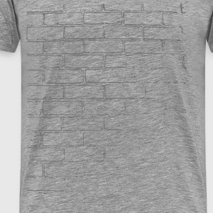 Brick Wall Texture - Men's Premium T-Shirt