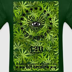 I LOVE CANNABIS GRAPHIC TEE - Men's T-Shirt