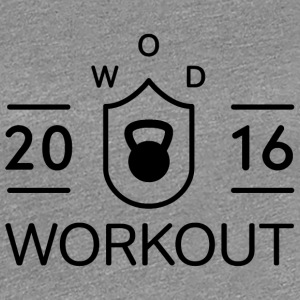 WOD Workout 2016 - Women's Premium T-Shirt