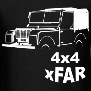 Land Rover Series 1 Offroad Vintage T-Shirt - Men's T-Shirt