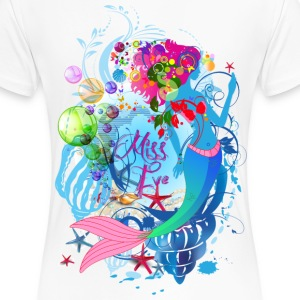 Miss Eve - Mermaid - Women's Premium T-Shirt