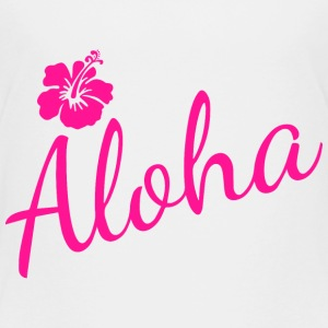 Aloha Script Baby & Toddler Shirts - Toddler Premium T-Shirt