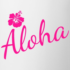Aloha Script Mugs & Drinkware - Coffee/Tea Mug