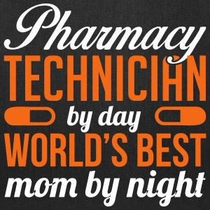 PHARMACY TECH. BY DAY WORLD'S BEST MOM BY NIGHT Bags & backpacks - Tote Bag
