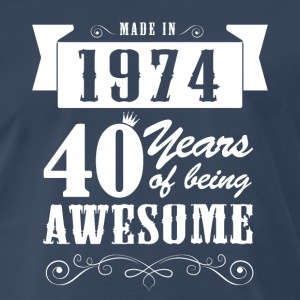 Made in 1974. T-Shirts - Men's Premium T-Shirt