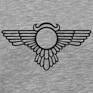 Winged Globe - Men's Premium T-Shirt