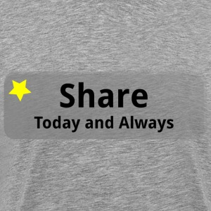 Share - Men's Premium T-Shirt