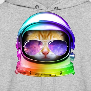 Kitty in Space - Men's Hoodie