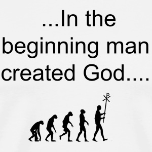 Evolution of Religion - Men's Premium T-Shirt