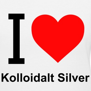 I Love Kolloidalt Silver T-Shirt Woman - Women's V-Neck T-Shirt