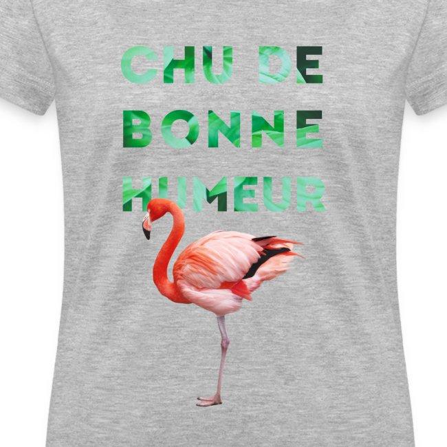"""V-neck pour femmes """"CHU DE BONNE HUMEUR"""""""