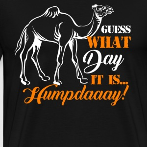 Hump Day Camel Funny T-Shirt - Men's Premium T-Shirt