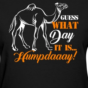 Hump Day Camel Funny T-Shirt - Women's T-Shirt