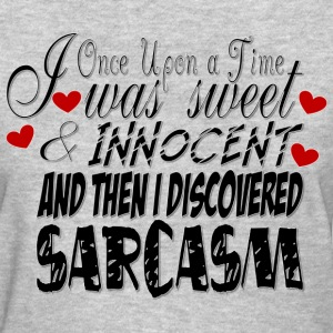 Sweet & Innocent/Sarcasm - Women's T-Shirt