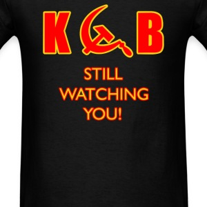 KGB Still Watching You - Men's T-Shirt