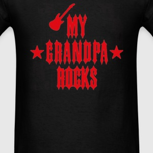MY GRANDPA ROCKS - Men's T-Shirt