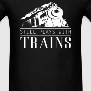 Play With Trains - Men's T-Shirt