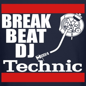 dj technics Long Sleeve Shirts - Crewneck Sweatshirt