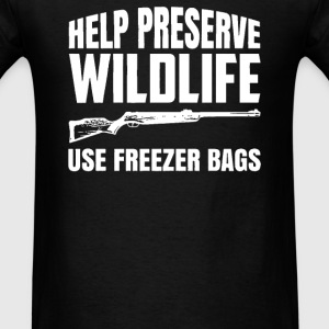 Preserve Wildlife - Men's T-Shirt