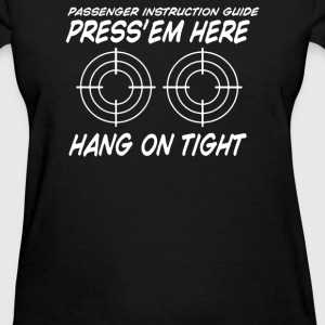 PRESS EM HERE - Women's T-Shirt