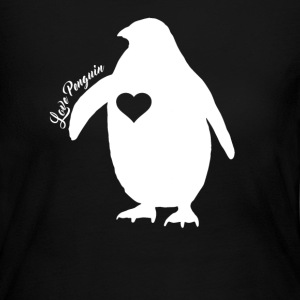 Penguin Shirt - Women's Long Sleeve Jersey T-Shirt