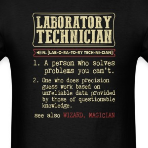 Laboratory Technician Badass Dictionary Term T-Shi T-Shirts - Men's T-Shirt