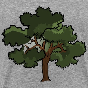 Oak tree - Men's Premium T-Shirt