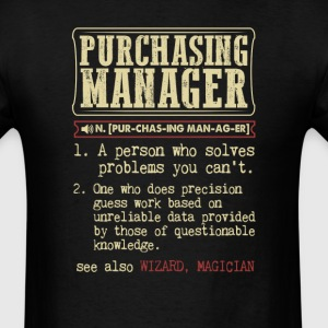 Purchasing manager Badass Dictionary Term T-Shirt T-Shirts - Men's T-Shirt