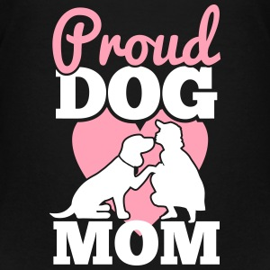Proud dog mom Kids' Shirts - Kids' Premium T-Shirt