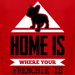 home is where frenchi is Sportswear - Men's Premium Tank