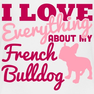 I Love Everything About My French Bulldog Kids' Shirts - Kids' Premium T-Shirt