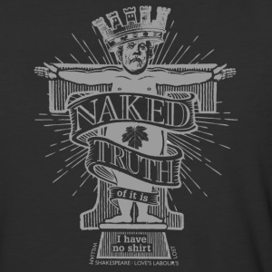 Naked Truth (Dark Shirt) T-Shirts - Baseball T-Shirt