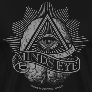 Mind's Eye (Dark Shirt) T-Shirts - Men's Premium T-Shirt