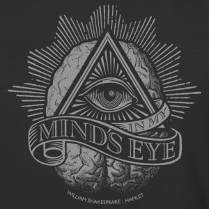 Mind's Eye (Dark Shirt) T-Shirts - Baseball T-Shirt