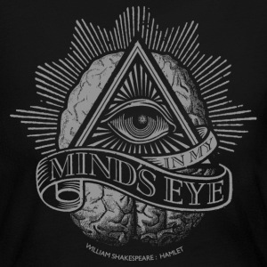 Mind's Eye (Dark Shirt) Long Sleeve Shirts - Women's Long Sleeve Jersey T-Shirt