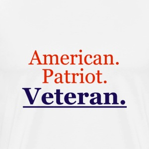 The Ultimate American Veteran's T-Shirt - Men's Premium T-Shirt