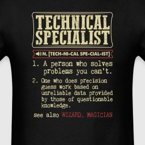 Technical Specialist Badass Dictionary Term T-Shir T-Shirts - Men's T-Shirt