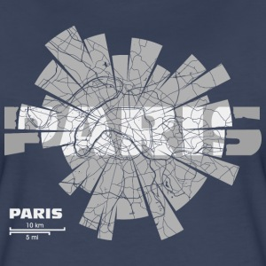 Paris Map T-Shirts - Women's Premium T-Shirt