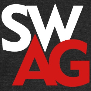 Swag T-shirt design - Unisex Tri-Blend T-Shirt