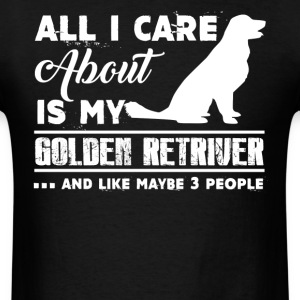 Golden Retriever Shirt - Men's T-Shirt