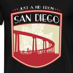 Kid from San Diego - It's where my story begins - Men's Premium T-Shirt