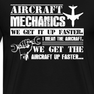 Aircraft Mechanic Shirt - Men's Premium T-Shirt