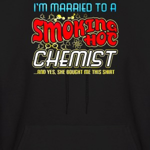 Smoking Hot Chemist - Men's Hoodie