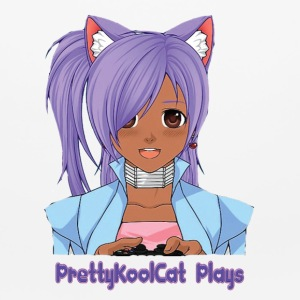 PrettyKoolCat Plays Mouse Pad - Mouse pad Horizontal