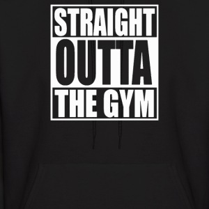 STRAIGHT OUTTA THE GYM - Men's Hoodie