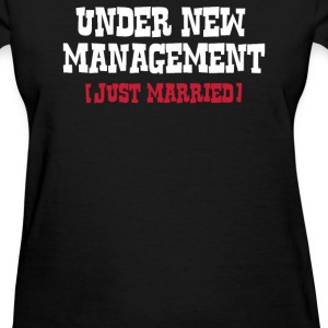 NEW MANAGEMENT, MARRIED' - Women's T-Shirt