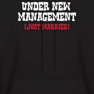NEW MANAGEMENT, MARRIED' - Men's Hoodie