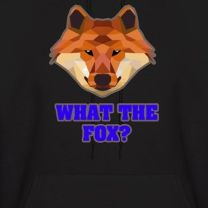 what the fox - Men's Hoodie