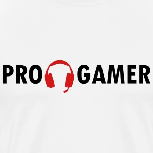 Pro Gamer Headset SHIRT MAN - Men's Premium T-Shirt