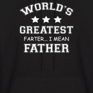 Worlds Greatest Farter - Men's Hoodie